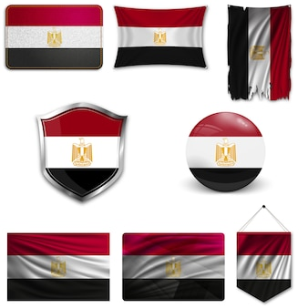 Набор государственного флага египта