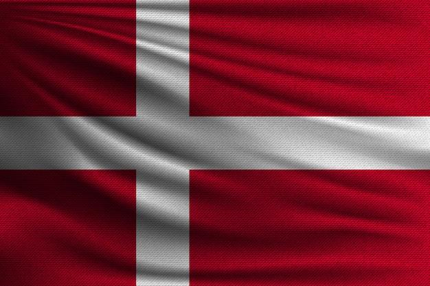 デンマークの国旗。