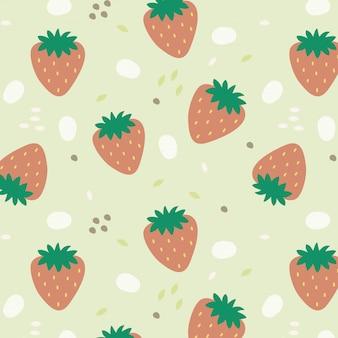 イチゴの背景