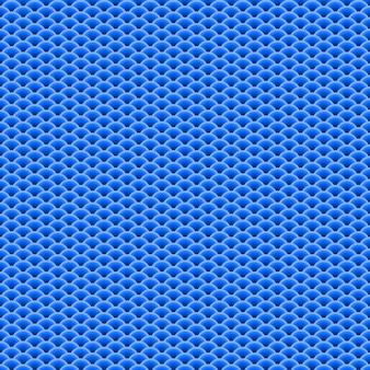 ブルーのシームレスパターン