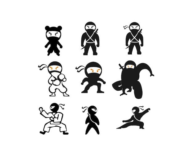 Ниндзя самурайский воин истребитель