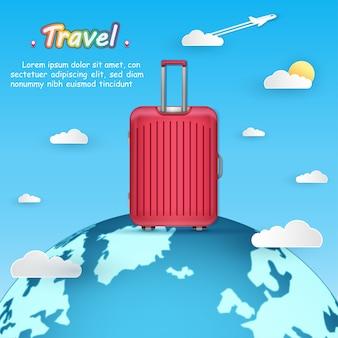 Багаж путешествует по всему миру.