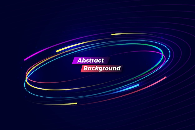 Цифровой абстрактный красочный фон движения