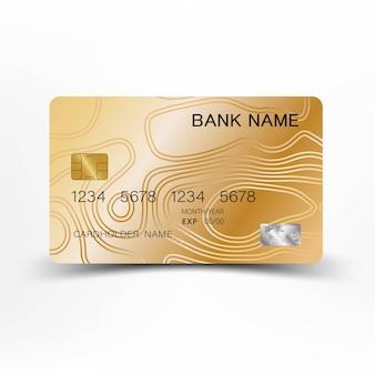 ゴールドクレジットカード。