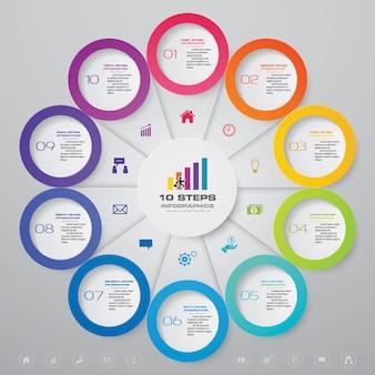 抽象的なプロセスチャート要素。