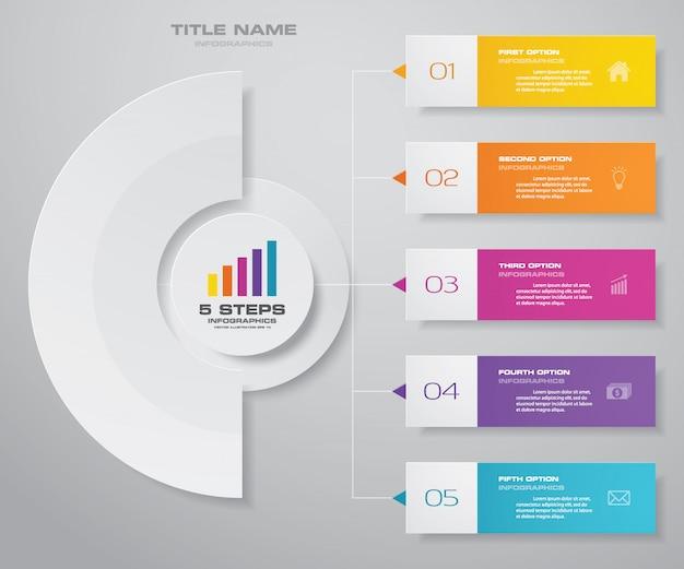 Элемент дизайна диаграммы инфографика