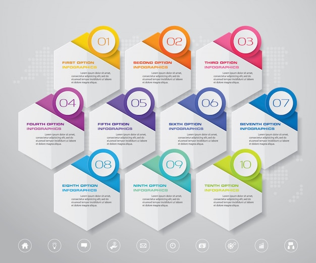 Элемент дизайна диаграммы инфографики