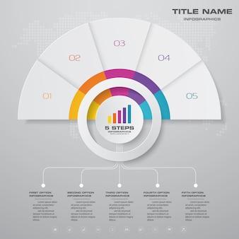 Элемент диаграммы инфографики