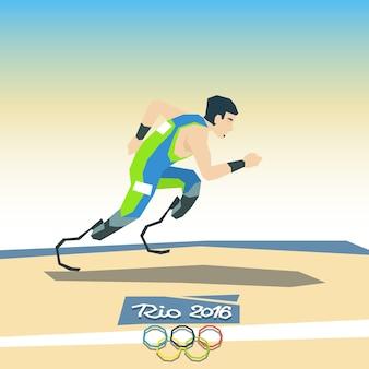 障害者ランナースポーツ競技会