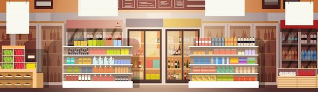 ビッグショップスーパーマーケットショッピングモールのインテリア