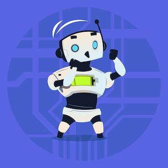 かわいいロボットファイティング