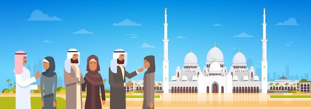 モスクの建物イスラム教徒の宗教に来てアラブ人ラマダンカリーム聖なる月