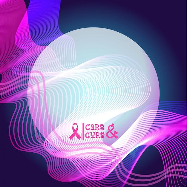 ピンクリボン乳房癌意識バナー