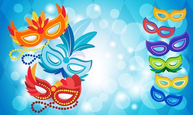 Праздник бразильского карнавала в рио