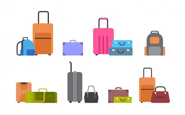 スーツケース、バッグ、バックパック