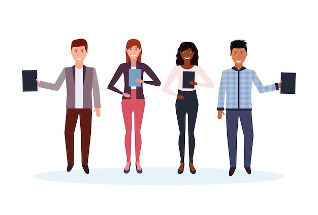 Группа офисных людей