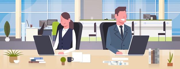 Коворкинг бизнес место иллюстрации