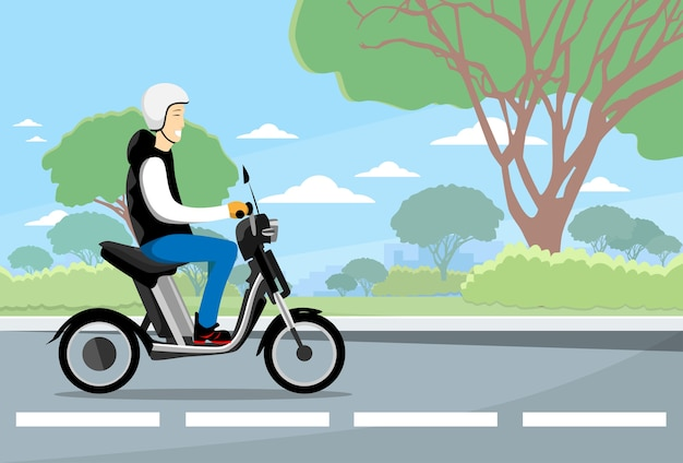 マンライドモペッドエレクトリックスクーター