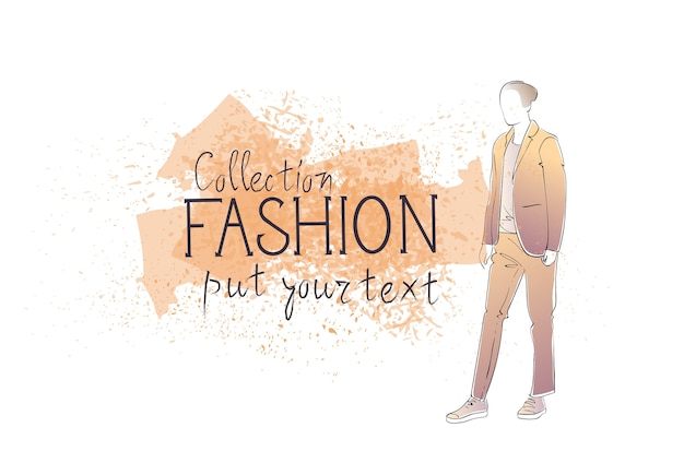 男性のファッションコレクション