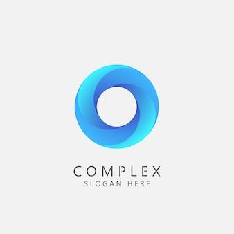複雑なビジネスロゴコンセプト