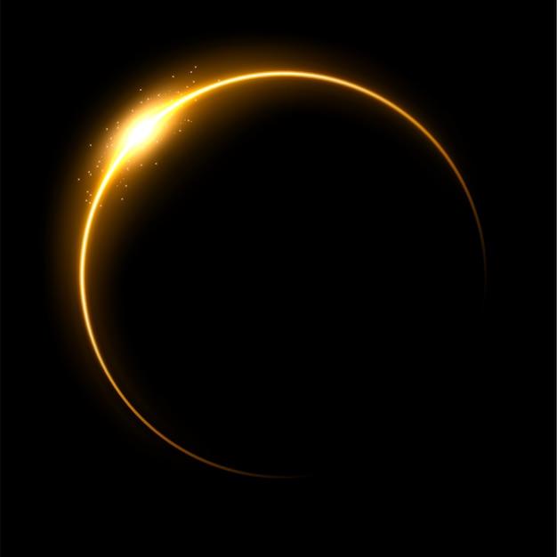 黄色の日食