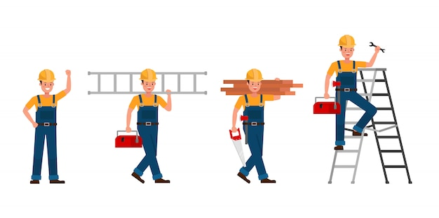 Персонаж строителя