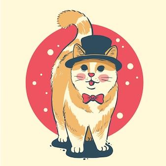 猫タキシード