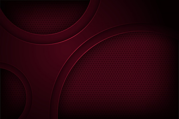Темно-красный абстрактный фон вектор с перекрытием