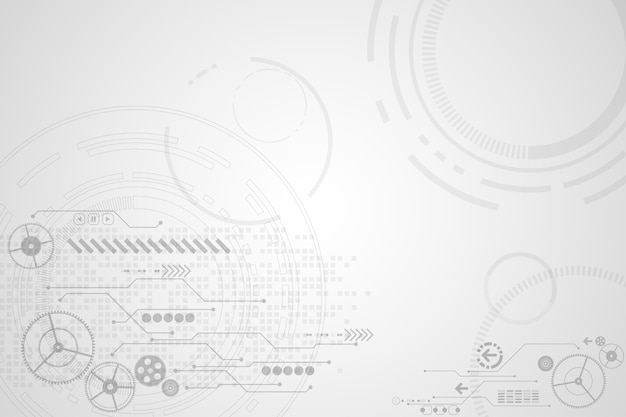 Векторный фон в концепции технологии.