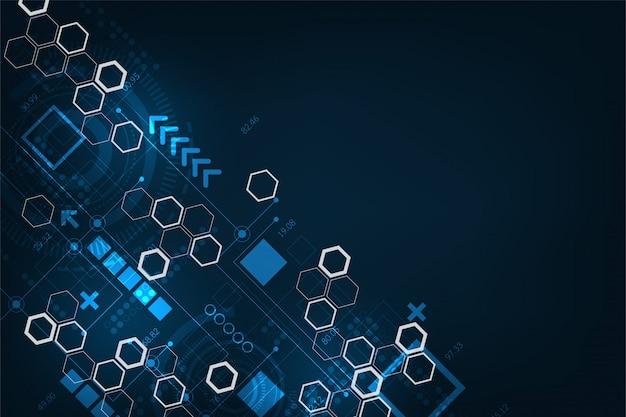 データを計算しているデジタルシステム。