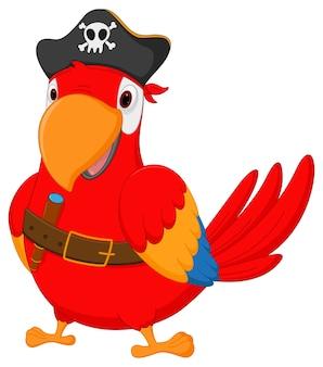 Счастливый пиратский попугай мультфильм