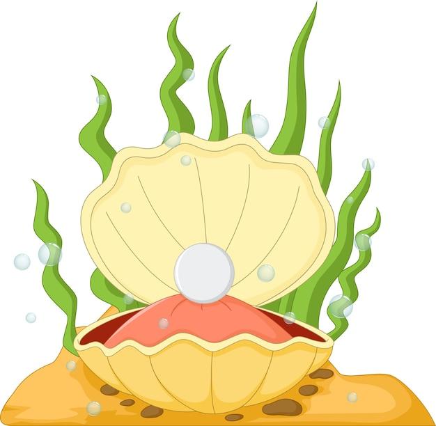 Устрица с жемчугом