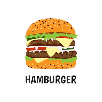 ビッグハンバーガーダブルビーフとチーズ