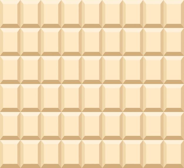 ミルククリームバーの背景のシームレスパターン
