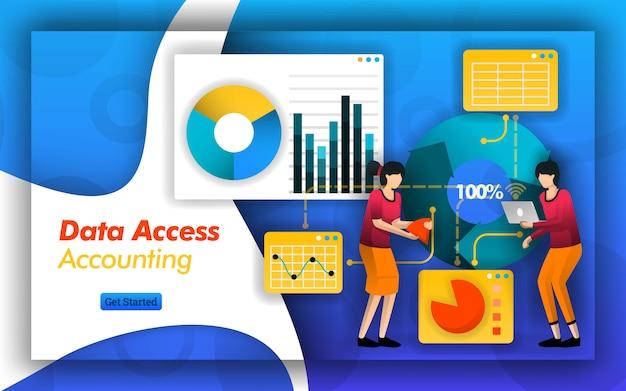 会計データへのアクセスと管理における接続性