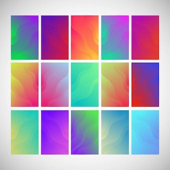 色の抽象的なパターン背景グラデーション