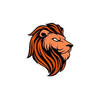 Логотип эмблемы логова головы