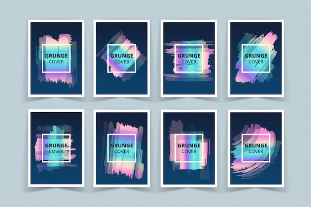 Набор баннеров с голографической обложкой