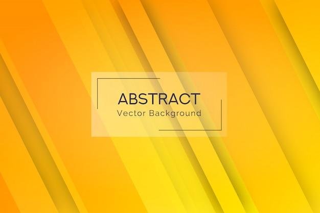 抽象的な黄色線図形の背景