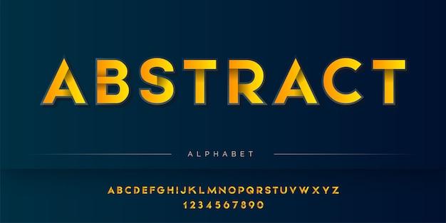 シャドウスタイルのアルファベットセット