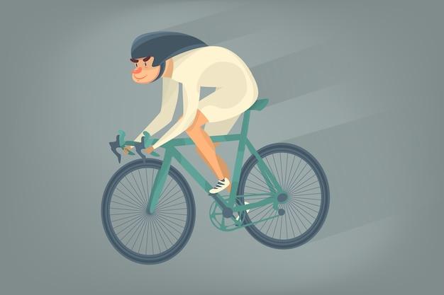 サイクリスト自転車競技者スポーツマン