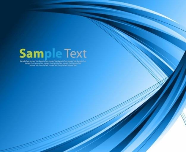 抽象的な青色のベクトルの背景