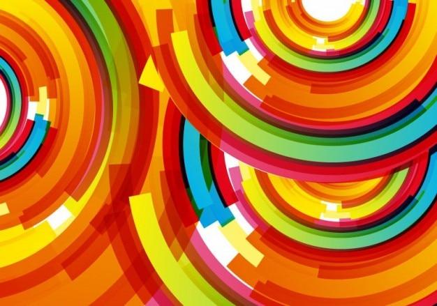 Цветной фон вектор дизайн