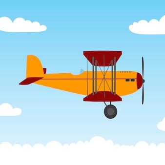 Старый самолет.
