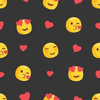 Эможи в любви