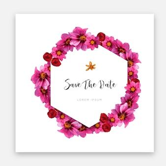 Современный дизайн шаблонов свадебных карт