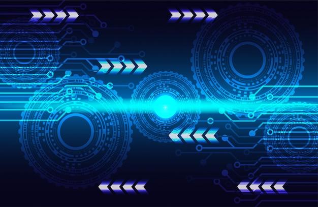 ギアホイール技術は、光と回路基板を光らせます。