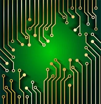 回路基板技術のコンセプト背景。