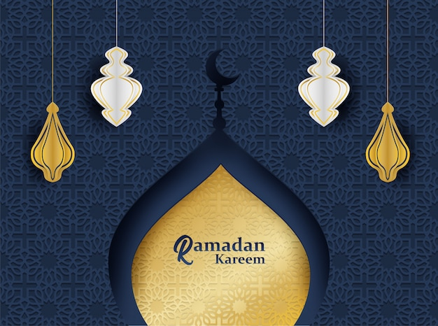 Рамадан карим фон.