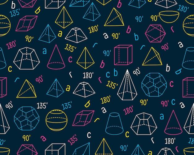 幾何学的なシームレステクスチャパターン